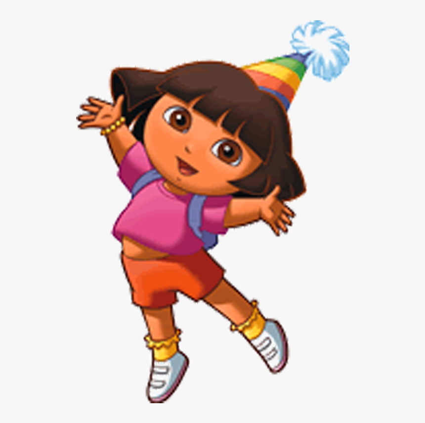 Dora The Explorer Birthday Png, Transparent Png, Free Download