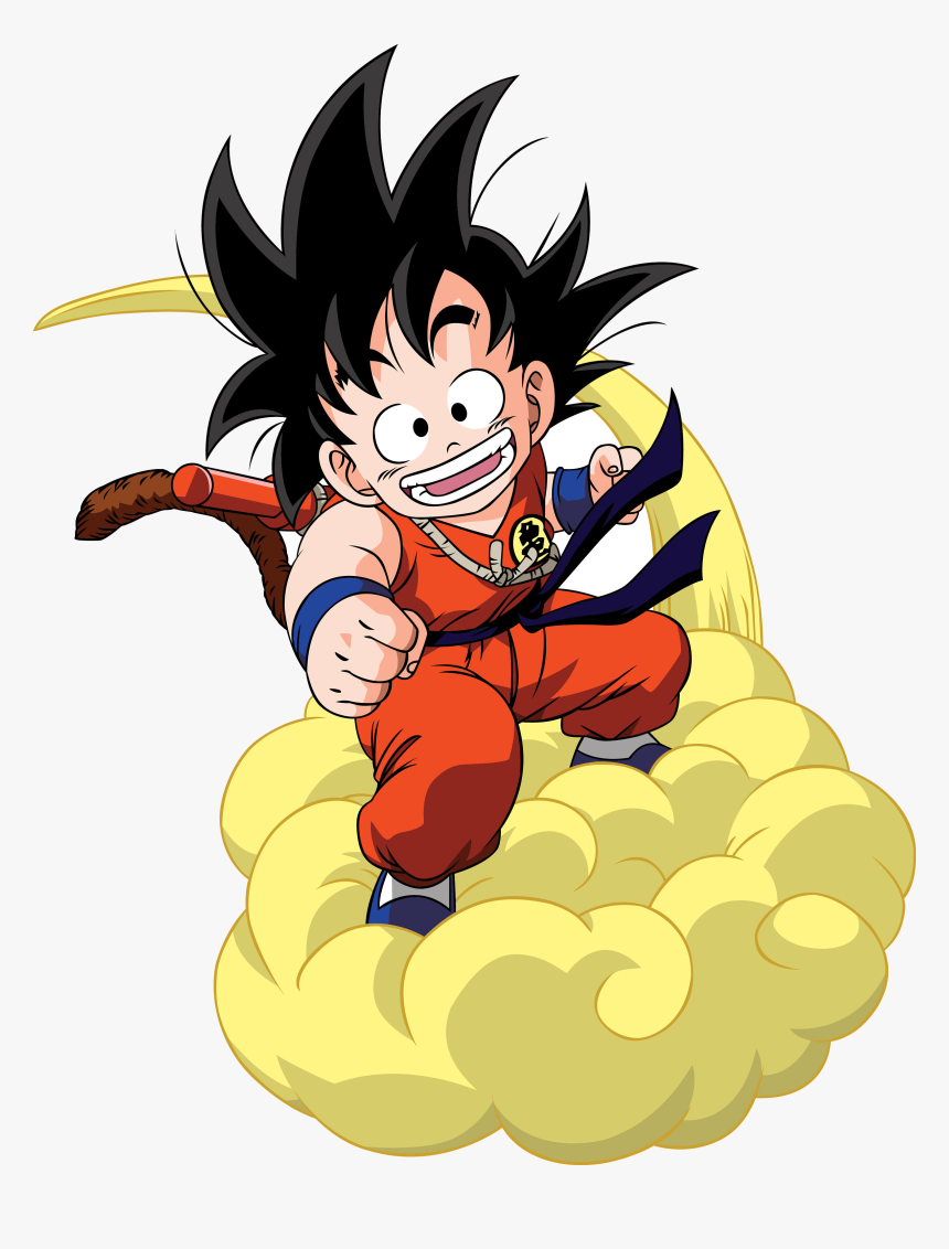 Dragon Ball Clipart At Free For Personal Use Transparent - Kid Goku Flying Nimbus, HD Png Download, Free Download