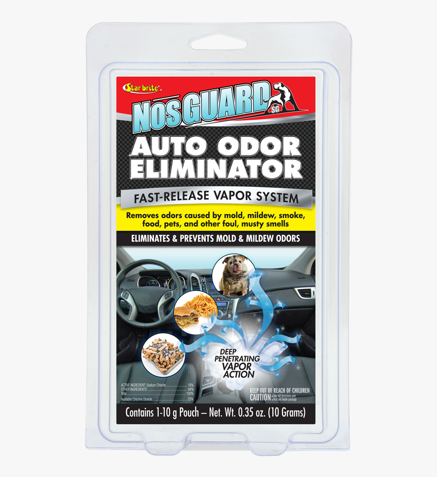 Star Brite 19970 Nosguard Sg Auto Odor Eliminator Smoke, HD Png Download, Free Download