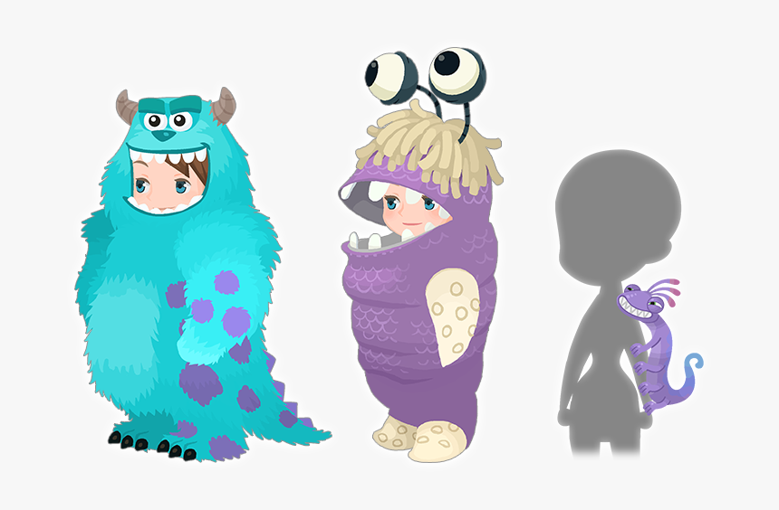 Transparent Monsters Inc Png イラスト モンスターズ インク ブー 着ぐるみ Png Download Kindpng