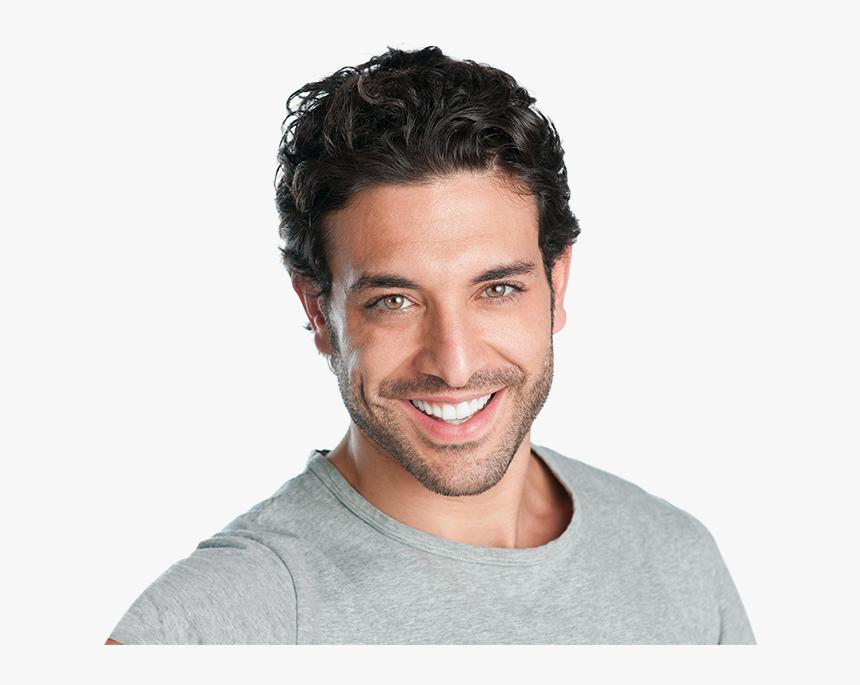 Transparent Man Hair Png - Man White Teeth, Png Download, Free Download