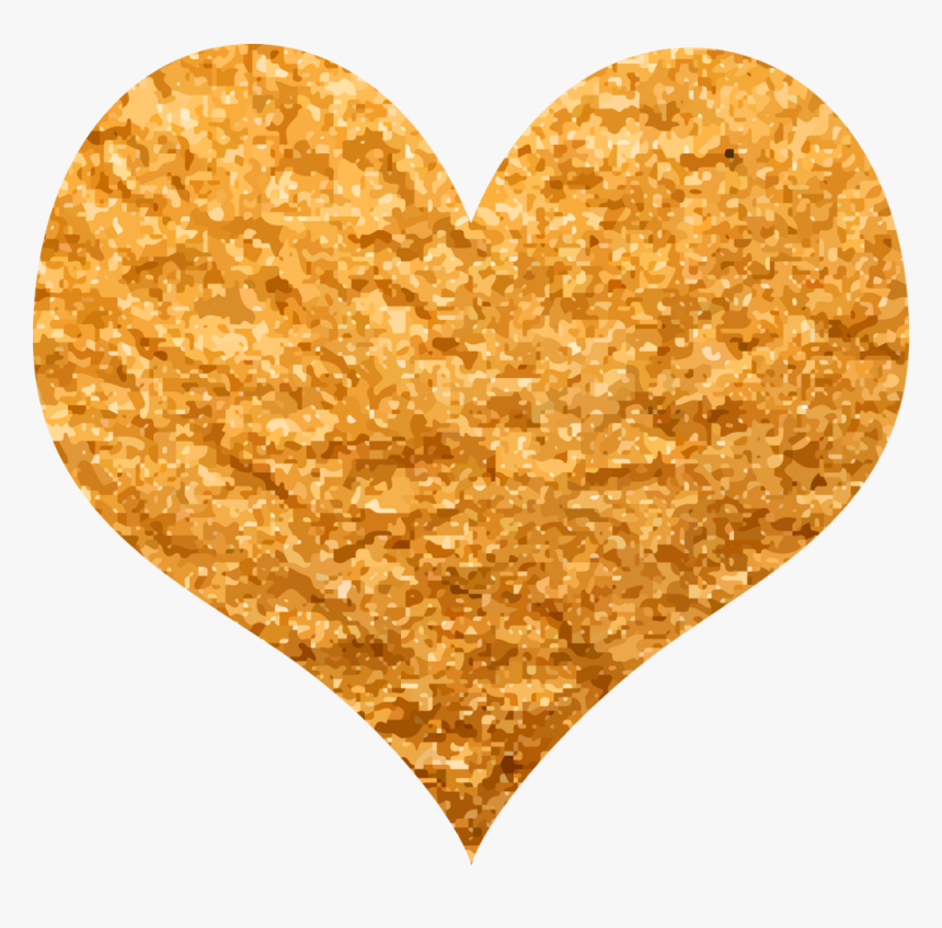 #heart #gold #goldheart #love #freetoedit - Heart Love Gold Png, Transparent Png, Free Download