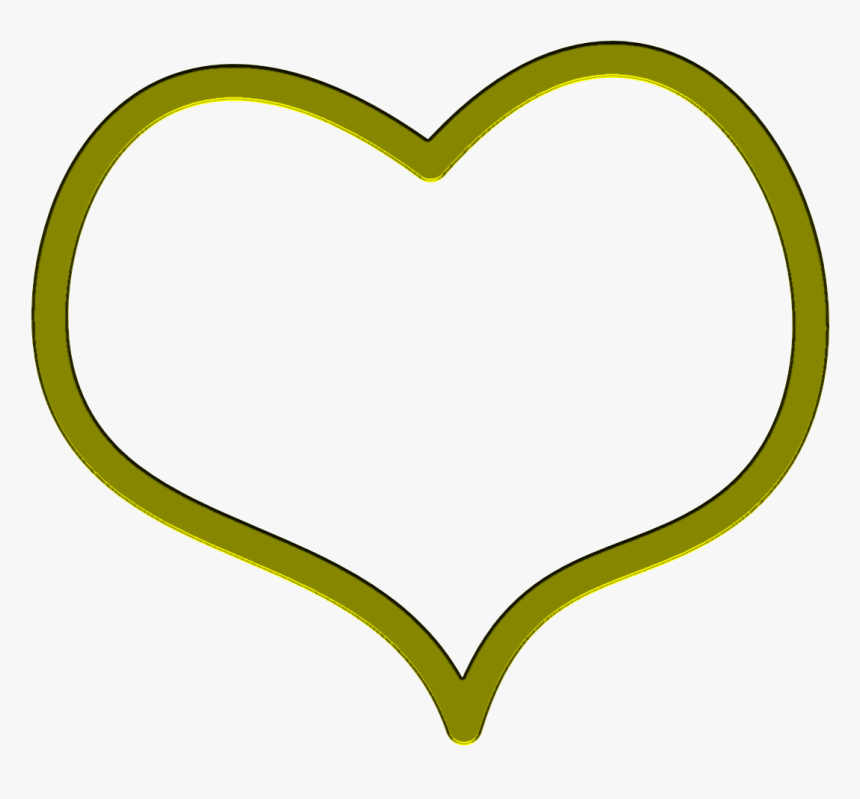 Heart Shaped Clipart Transparent - Download Free Gold Heart Png, Png Download, Free Download