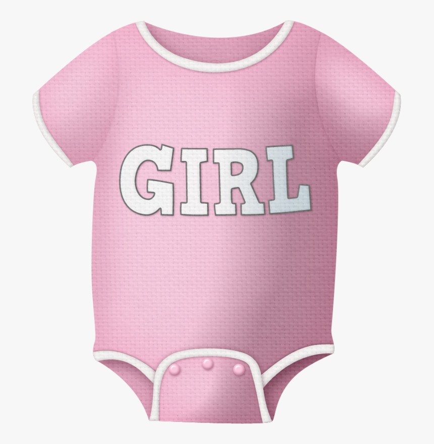 Transparent Baby Clothes Clipart - Baby Girl Onesie Clipart, HD Png Download, Free Download
