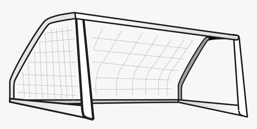 Hd Clipart Football Goal - Clip Art Goal Posts, HD Png Download, Free Download