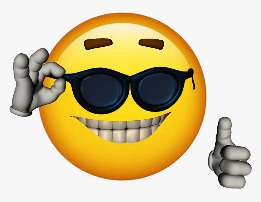 Dr Cool Jasper , Png Download - Sunglasses Emoji Meme Png, Transparent Png, Free Download