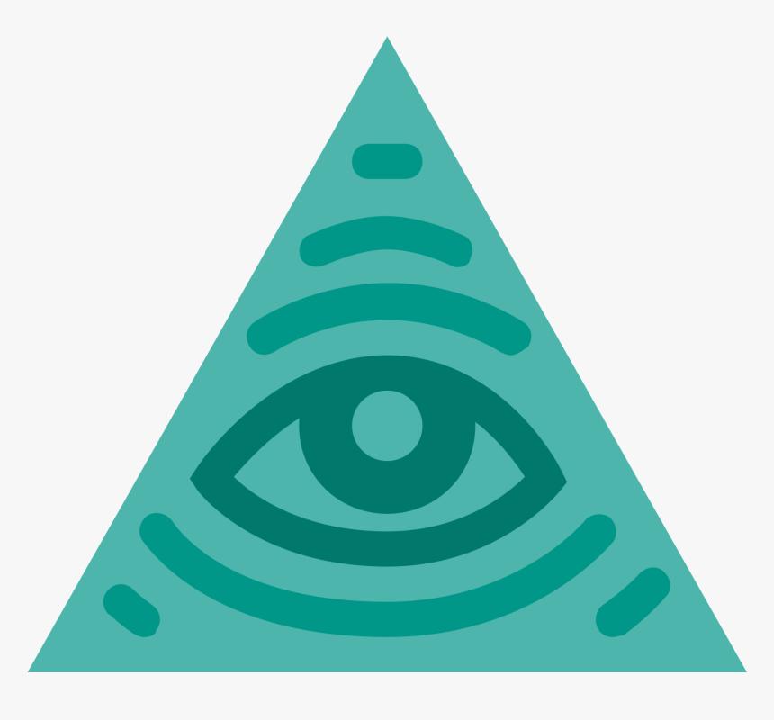 Illuminati Transparent Triangle Text - Illuminati Icon, HD Png Download, Free Download