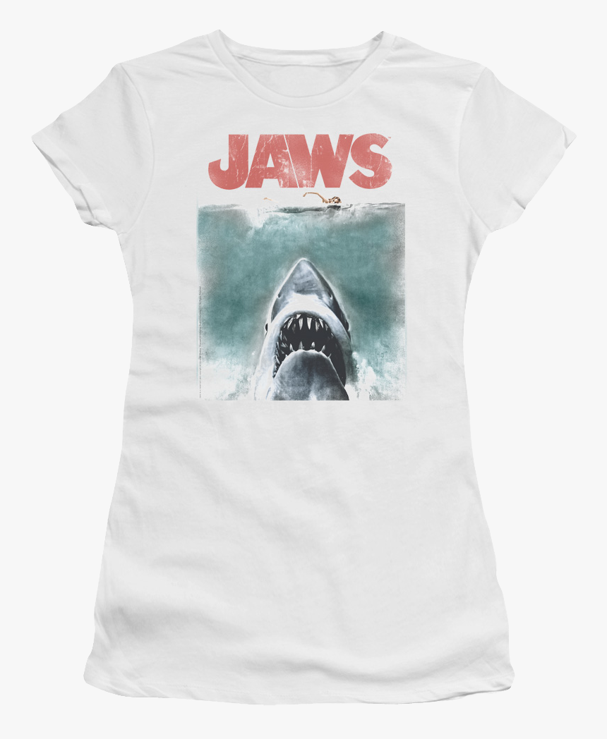 Junior Jaws Shirt - Jaws T Shirt, HD Png Download, Free Download