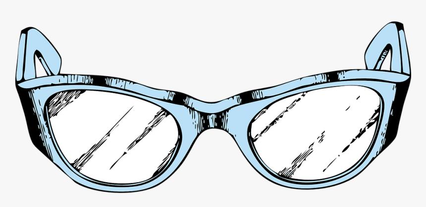 Glasses, Eyeglasses, Spectacles, Goggles, Frames - Glasses Clip Art, HD Png Download, Free Download