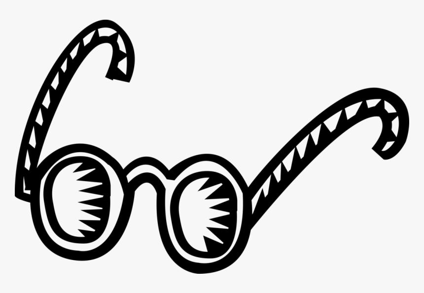 Vector Illustration Of Eyeglasses Or Reading Glasses, HD Png Download, Free Download