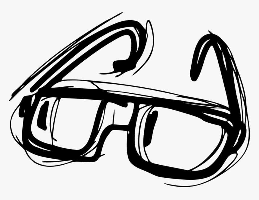 Line Art,vision Care,diving Mask - Gambar Orabr Oakai Kacamata Animasi, HD Png Download, Free Download