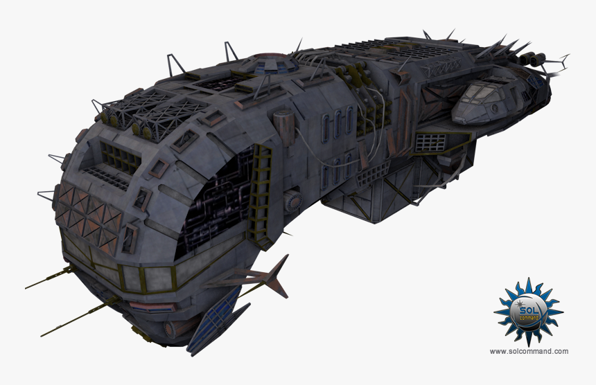 Stargate Ship Png - Battlecruiser, Transparent Png, Free Download