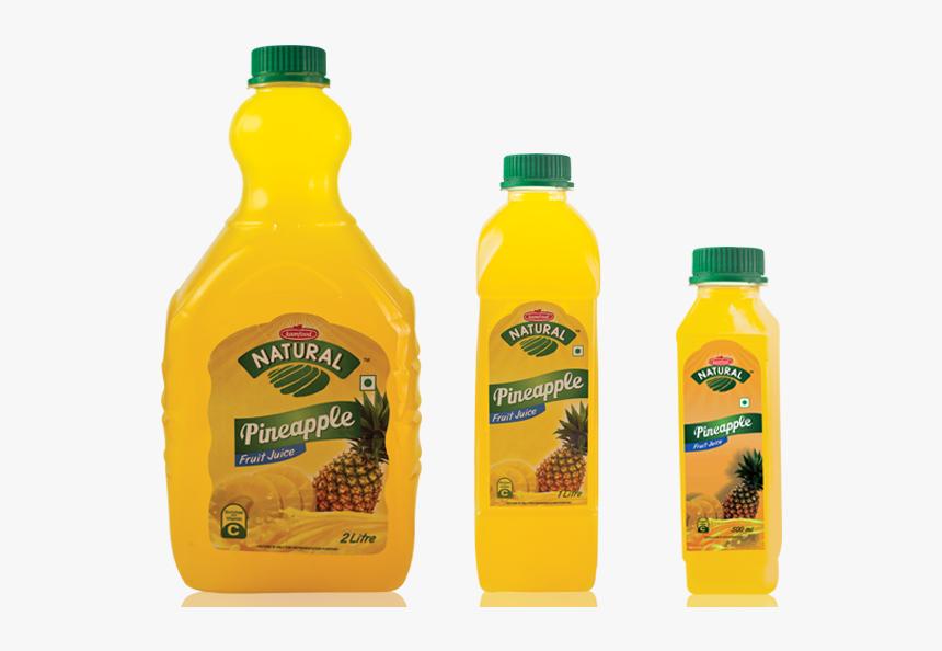 Pineapple Juice - Plastic Bottle, HD Png Download, Free Download
