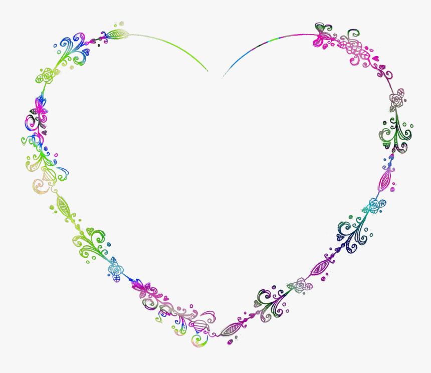 Love Rainbow, Picsart, Frames, Frame, Picture Frames - Decorative Frame Png Wedding, Transparent Png, Free Download
