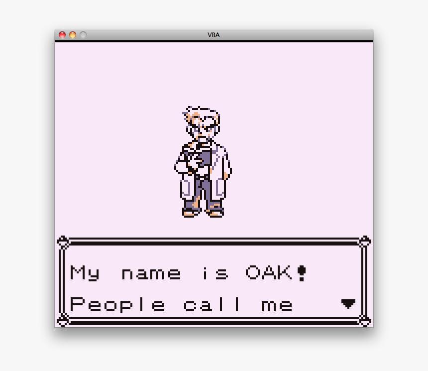This Is Professor Oak - Pokemon, HD Png Download, Free Download