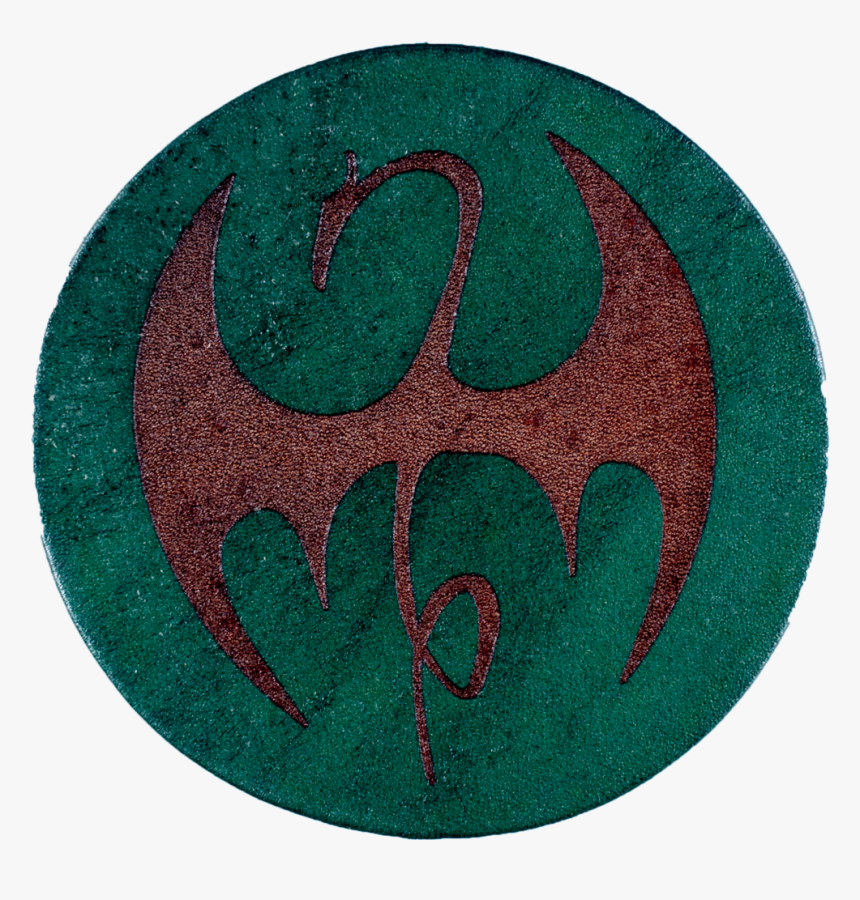 Iron Fist Inspired Coaster - Emblem, HD Png Download, Free Download
