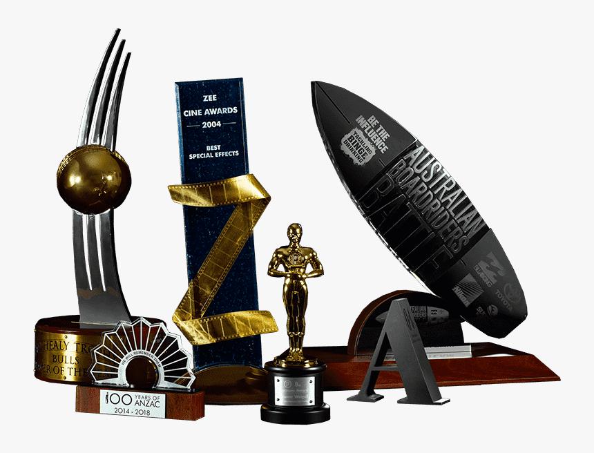Transparent Award Trophy Png - Zee Cine Awards Trophy, Png Download, Free Download