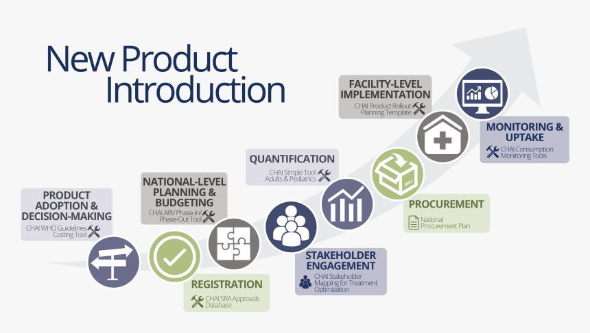 New Product Introduction Phases, HD Png Download, Free Download