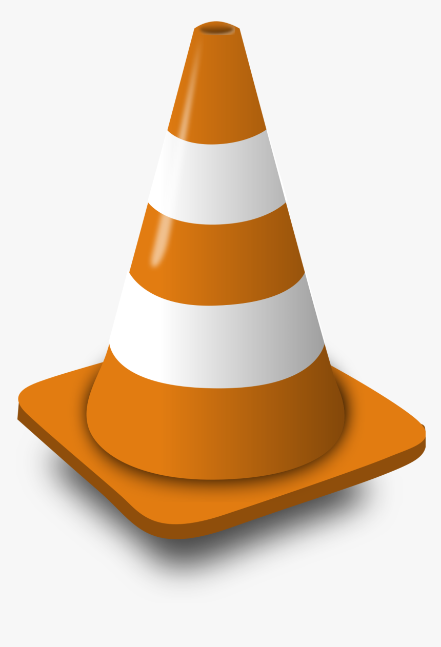 Transparent Construction Cone Png - Vlc Png, Png Download, Free Download