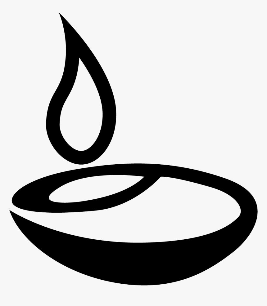 Light Diwali Png Black, Transparent Png, Free Download