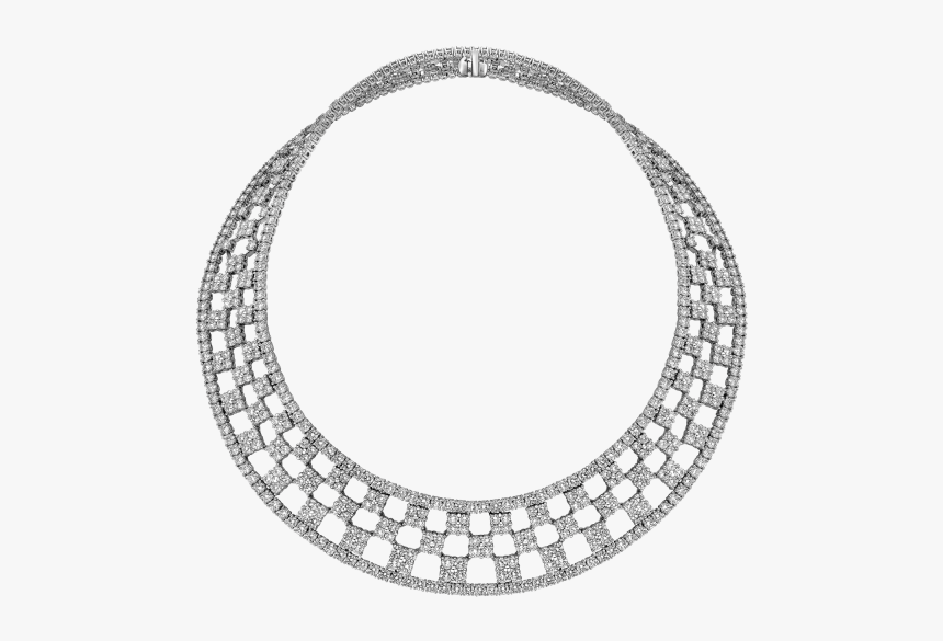 Malabar Gold Diamond Necklace With Price, HD Png Download, Free Download