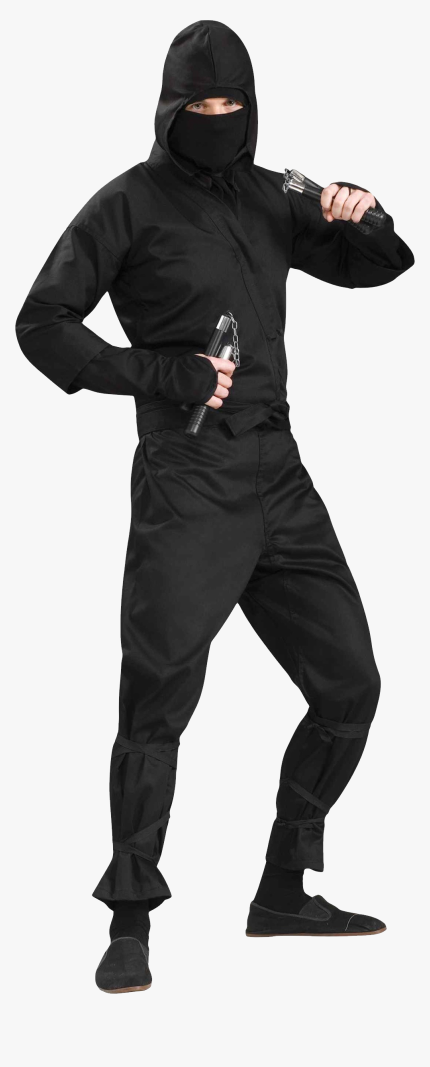 Ninja Png - Mens Ninja Halloween Costume, Transparent Png, Free Download