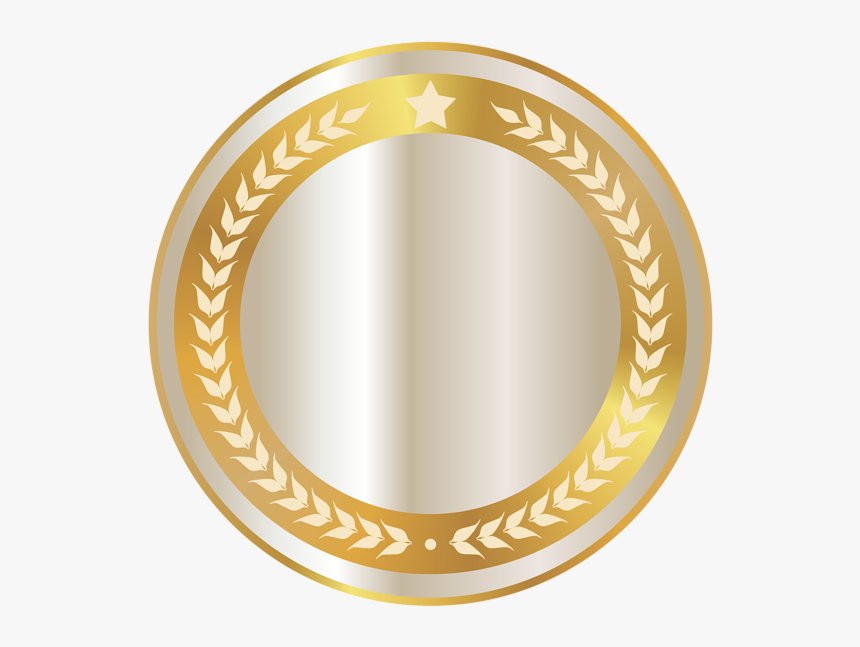 Circle Gold Badge Png, Transparent Png, Free Download