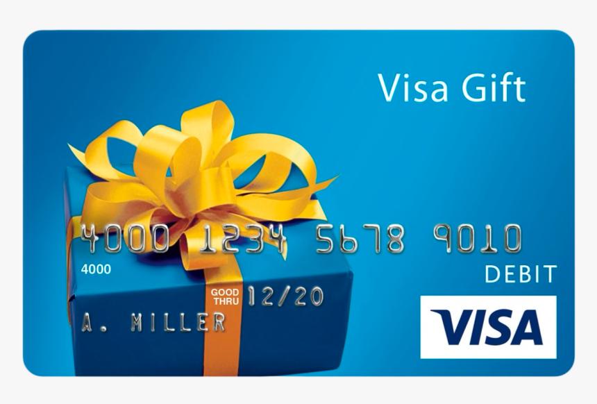 $10 Visa Gift Card, HD Png Download - kindpng