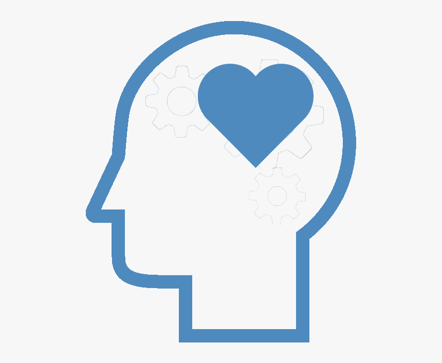 "Icon Of A Heart In A Person""s Head - Heart, HD Png Download, Free Download"