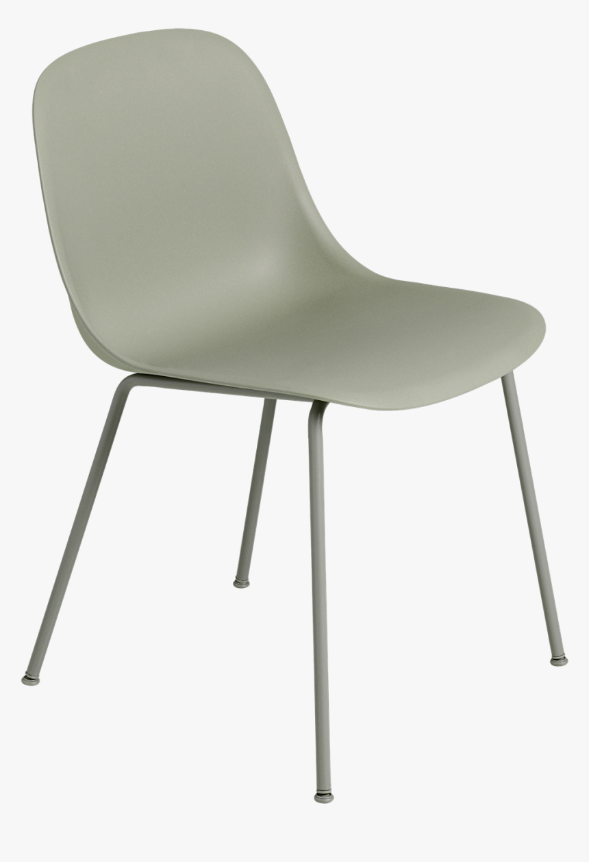 25004 Fiber Side Chair Tube Dgreendgreen 1502285016 - Muuto Fibre Side Chair, HD Png Download, Free Download