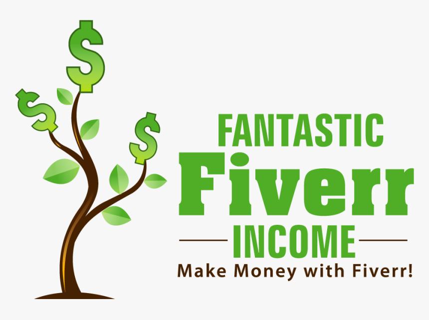 Transparent Make Money Png - Make Money With Fiverr, Png Download, Free Download