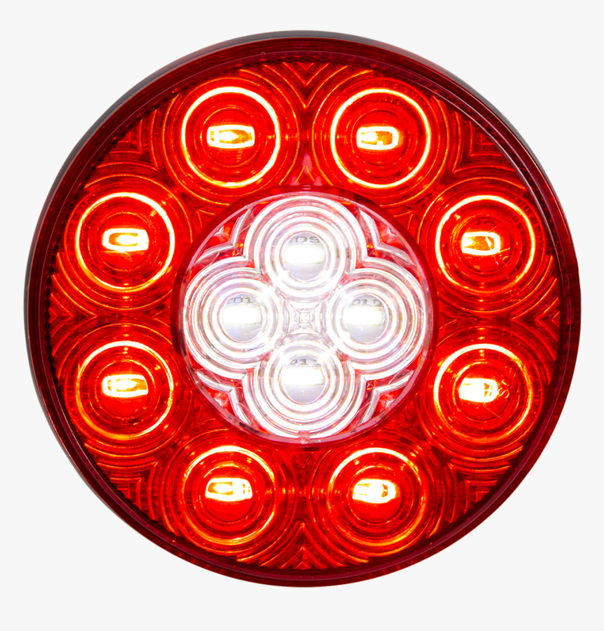 5624130 Round Sealed Led Combination Stop/turn/tail/back - Circle, HD Png Download, Free Download