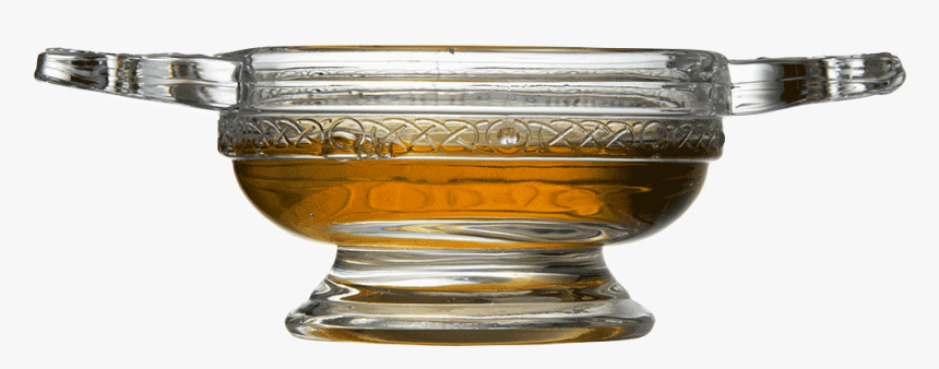 Glass Quaich Bowl - Quaich Scottish Drinking Glass, HD Png Download, Free Download