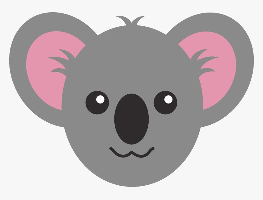 Draw A Koala Face, HD Png Download, Free Download