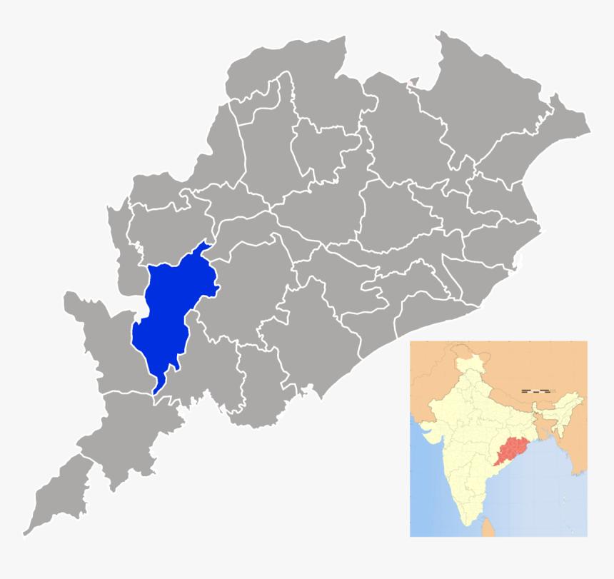 Jharsuguda In Odisha Map, HD Png Download, Free Download