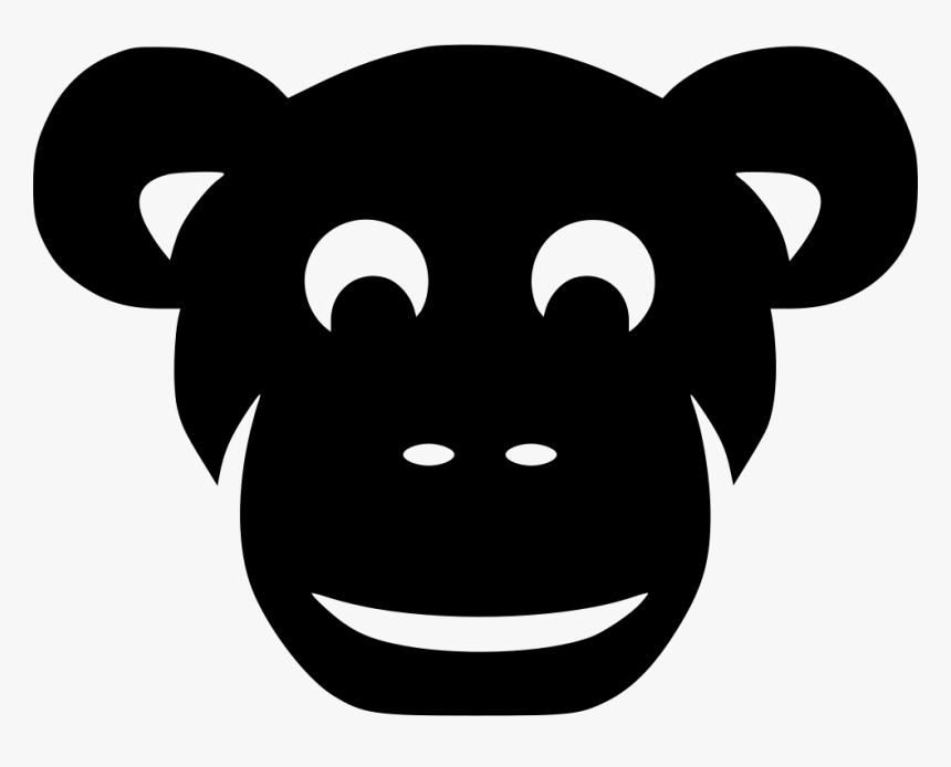 Collection Of Free Chimpanzee Drawing Face Mask Download - Portable Network Graphics, HD Png Download, Free Download
