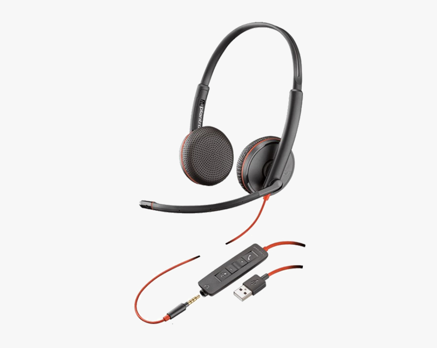 Plantronics Blackwire C3225 Usb Headset, HD Png Download, Free Download