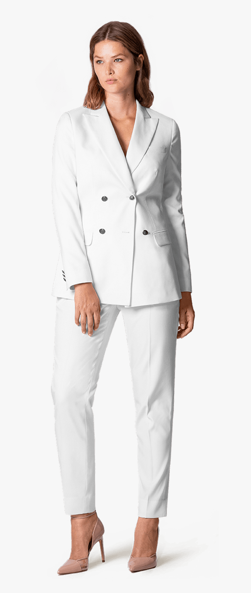 Plus Size White Double Breasted Linensuit - Plus Size White ...