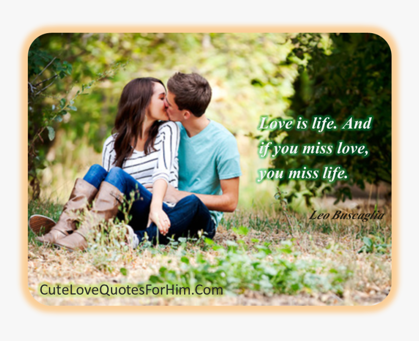 Love Is Life - Lover Romantic Miss You, HD Png Download, Free Download