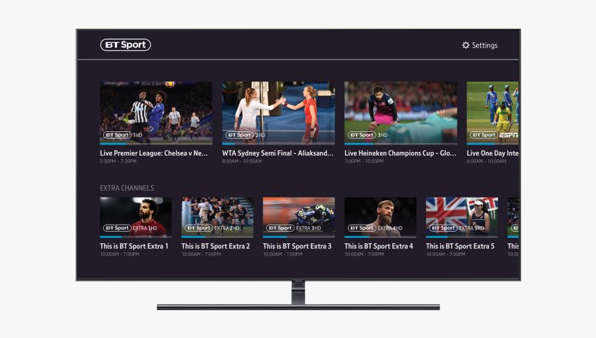Bt Sport App Samsung Tv, HD Png Download, Free Download