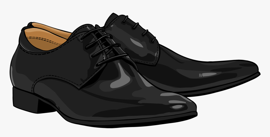 Clip Royalty Free Stock Black Men Shoes Png Clipart - Men's And Ladies Shoes Png, Transparent Png, Free Download