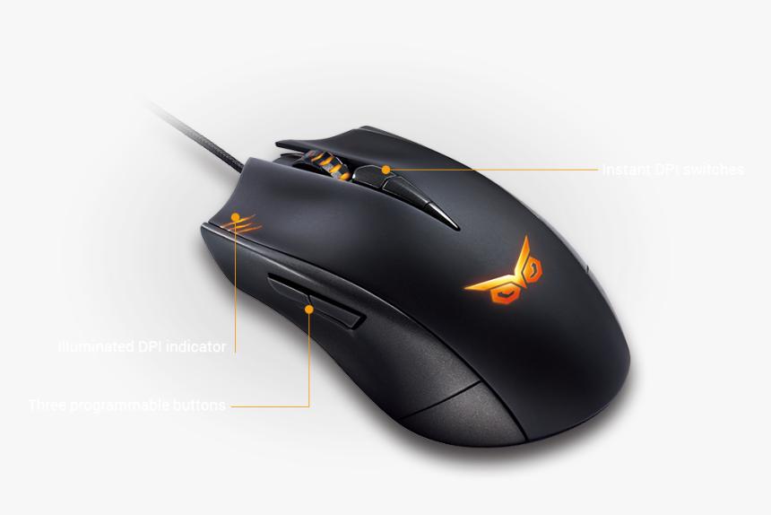 Asus Rog Strix Mouse, HD Png Download, Free Download