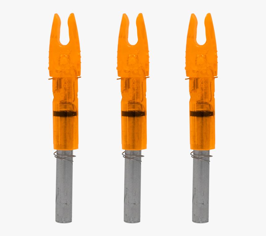 "Lumenok Gt Lighted Arrow Nock Hd Orange""  Class= - Arrow Nock, HD Png Download, Free Download"