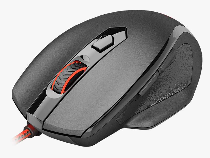 Redragon M709-1 Tiger2 Red Led Gaming Mouse - Redragon M709 Tiger Gaming Mouse, HD Png Download, Free Download