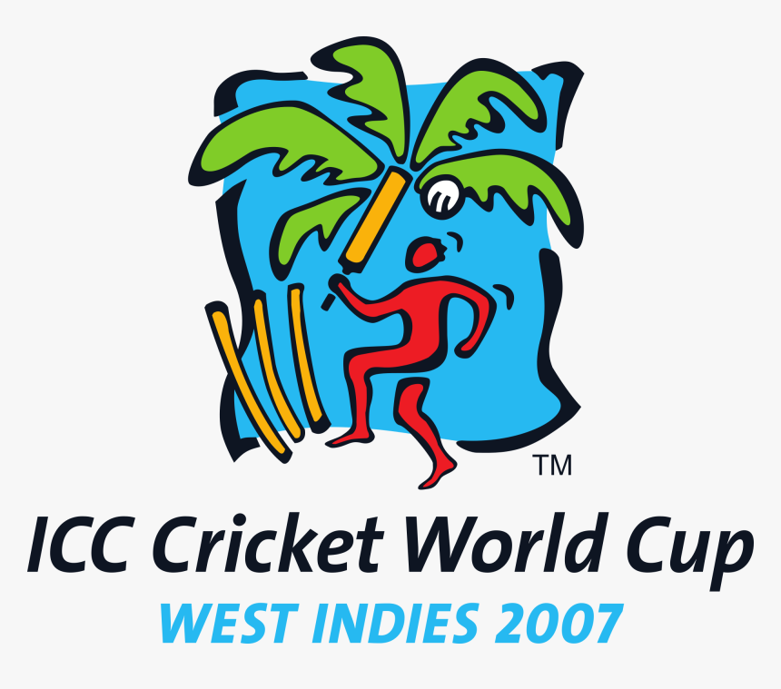 Cricket World Cup 2007 Logo , Png Download - Icc Cricket World Cup, Transparent Png, Free Download