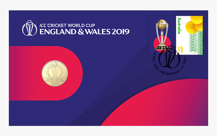 Cricket World Cup Postage Stamps 2019, HD Png Download, Free Download
