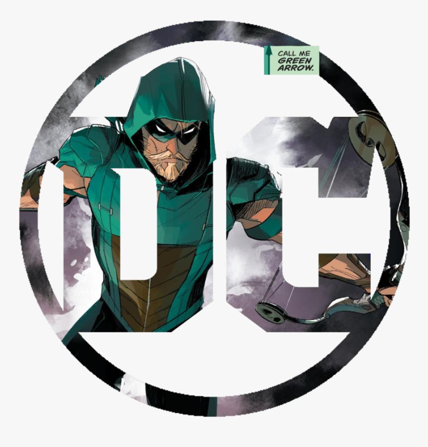 Green Arrow Batman Logo Superhero Dc Comics - Dc Logo Green Arrow, HD Png Download, Free Download