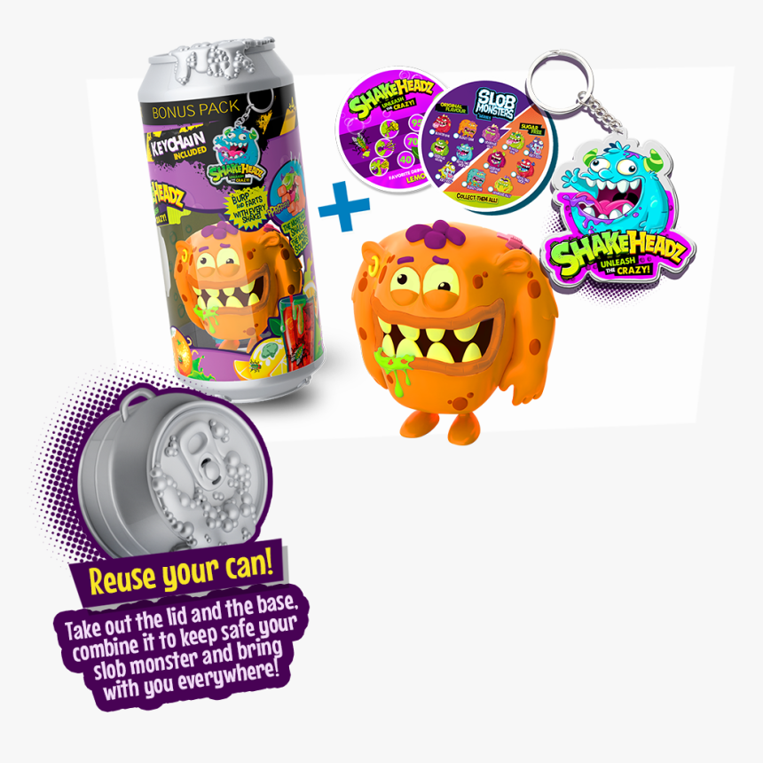 Shake Headz Slob Monsters, HD Png Download, Free Download
