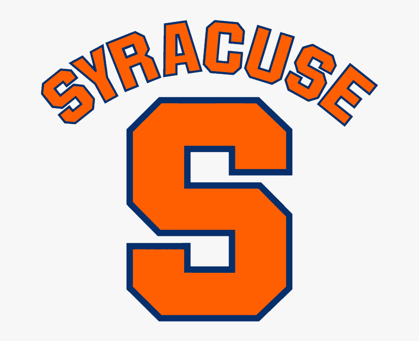 Syracuse College Basketball Logo Clipart Png Download