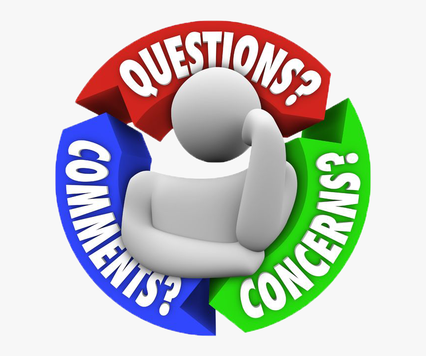 Any Questions Or Comments , Png Download - Any Questions ...